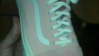 Le scarpe oggetto di discussione