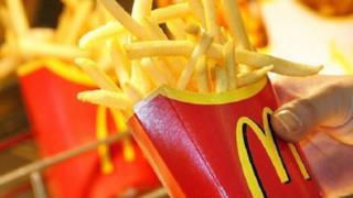 Le patatine fritte del McDonald's