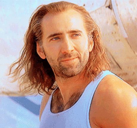 Nicolas Cage fa l'occhiolino - GIF di reazione ai commenti, le più divertenti da usare su Whatsapp e Facebook