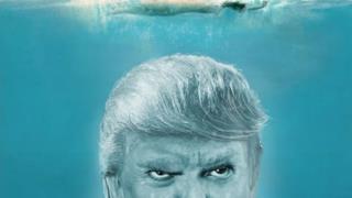 Trump in Lo squalo