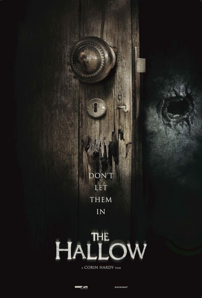 La locandina del film horror The Hallow