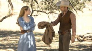 Una scena estratta dalla prima stagione di Westworld