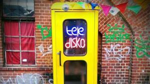 Teledisko, la discoteca più piccola del mondo