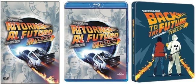 Le edizioni Speciali in Blu-Ray e DVD di Ritorno al Futuro