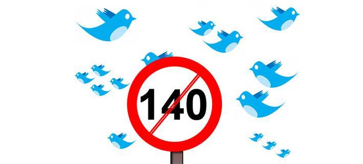Il limite di 140 caratteri è abolito