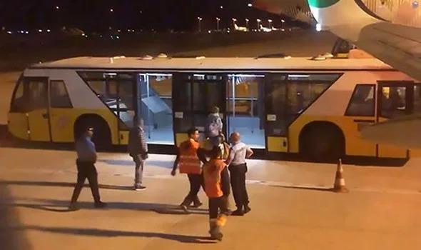Il team di primo soccorso dell'Aeroporto di Faro.