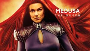 Medusa, interpretata da Serinda Swan.