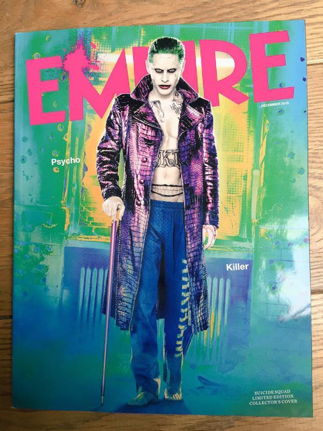 Nuove immagini per il Joker in Suicide Squad