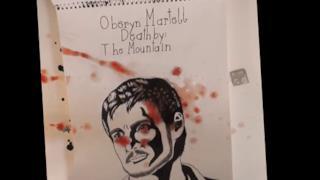 La morte illustrata di Oberyn Martell