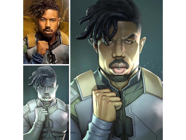 Erik Killmonger di Black Panther