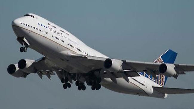 Un aereo della United Airlines