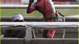 Deadpool, foto dal set cinematografico
