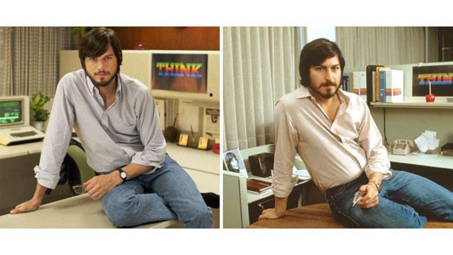 Ashton Kutcher nelle vesti di Steve Jobs