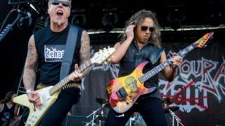 I Metallica in concerto