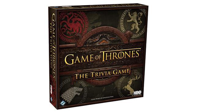 La confezione del Trivial Pursuit di Game of Thrones