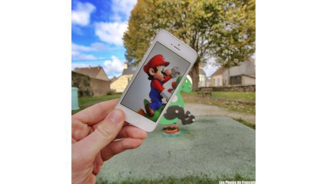 Mario in giostra