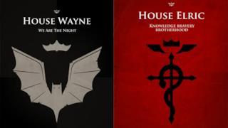 In Game of Thrones i personaggi della cultura popolare userebbero questi banner