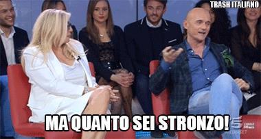Mara Venier: Ma quanto sei stronzo Signorini
