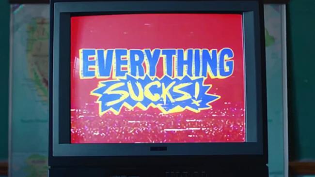 Il logo di Everything Sucks!