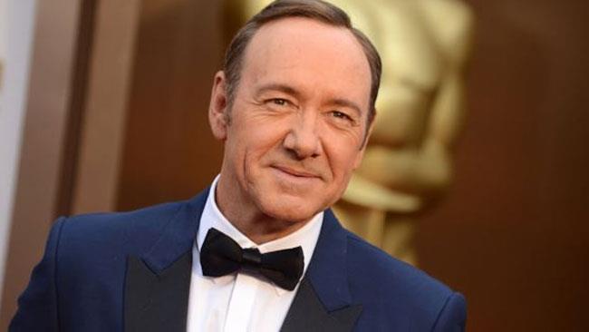 L'attore durante un evento