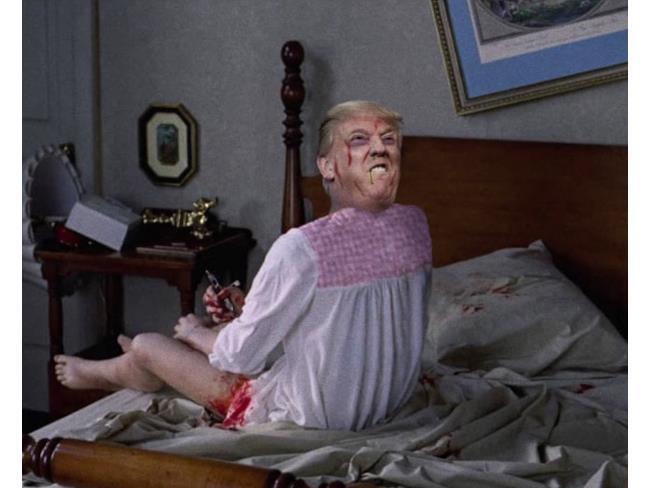 Trump in L'esorcista