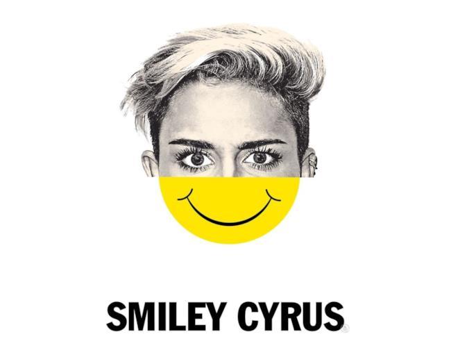 Mashup di Miley Cyrus e uno smiley