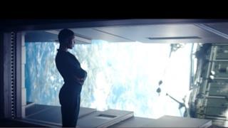 Uno screen della serie televisiva Nightflyers