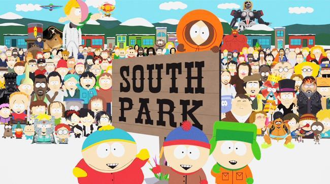South Park copertina