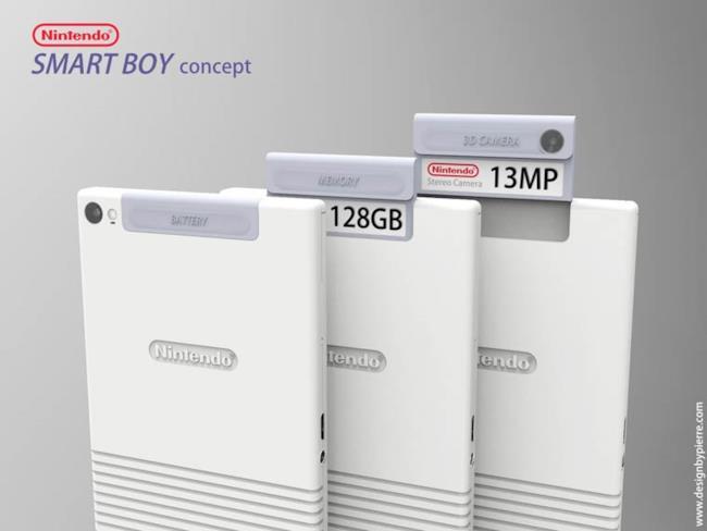 Le cartucce di Nintendo Smart Boy