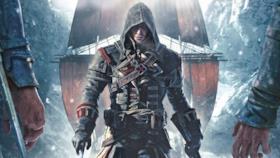 Una parte della copertina ufficiale di Assassin's Creed Rogue.