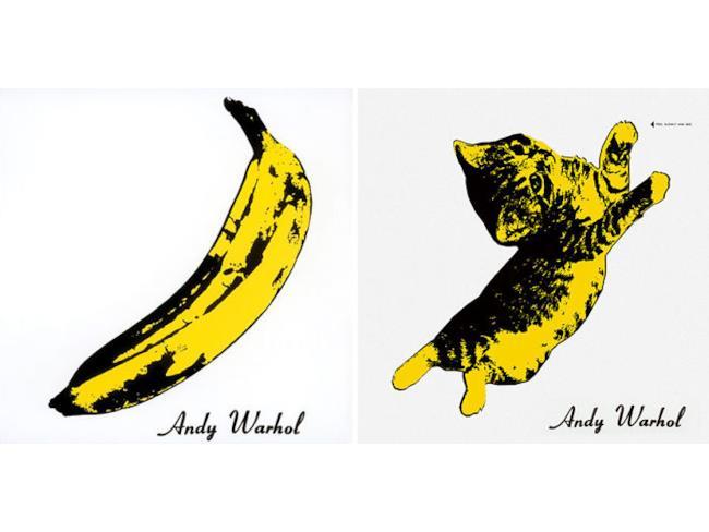 Il gatto come Warhol