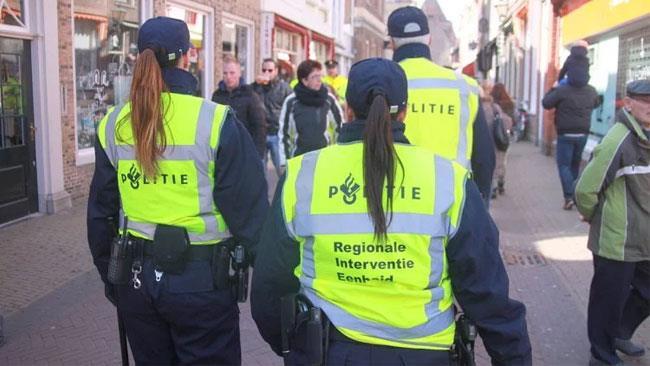 Un'immagine della Fashion Police olandese