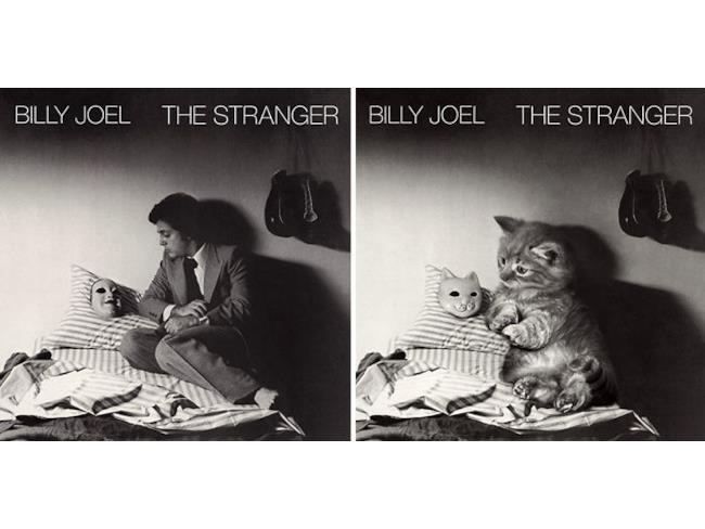 I gatti dell'album di Billy Joel