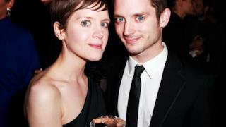 Elijah Wood insieme a sua sorella