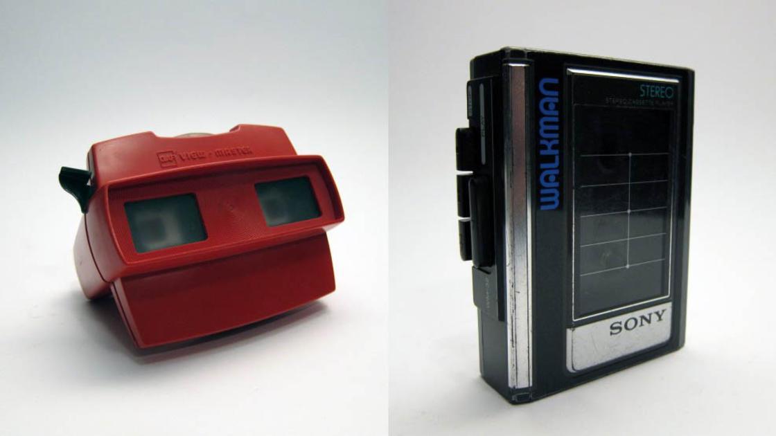 Alcuni dispositivi vintage del progetto Conserve the Sound