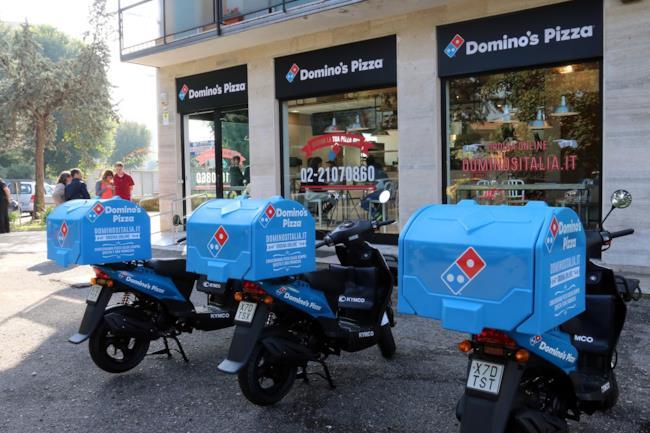 Il punto vendita di Domino's Pizza a Milano
