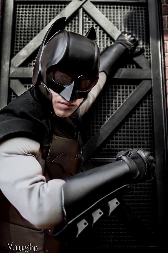 Il costume da Batman di Jackson Gordon a Katsucon