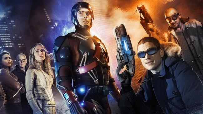 Promo art per Legends of Tomorrow