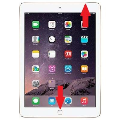 la combinazione di tasti per fare uno screenshot su iPad