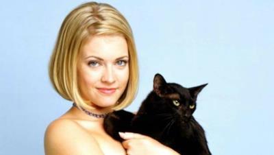 Sabrina e il simpaticissimo gatto Salem