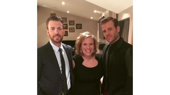 Chris Evans e i suoi fratelli