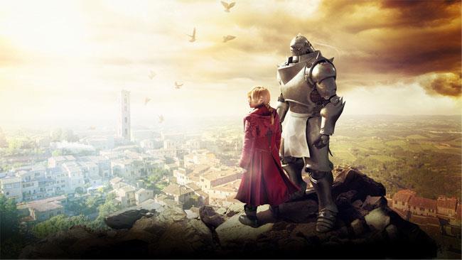 Edward, Winry e Alphonse in una foto del film