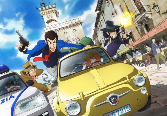 Immagine promozionale del nuovo anime di Lupin III