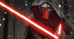 Kylo Ren è pronto alla lotta in un'immagine dal film