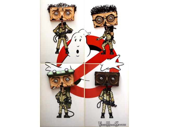 VHS in versione Ghostbusters