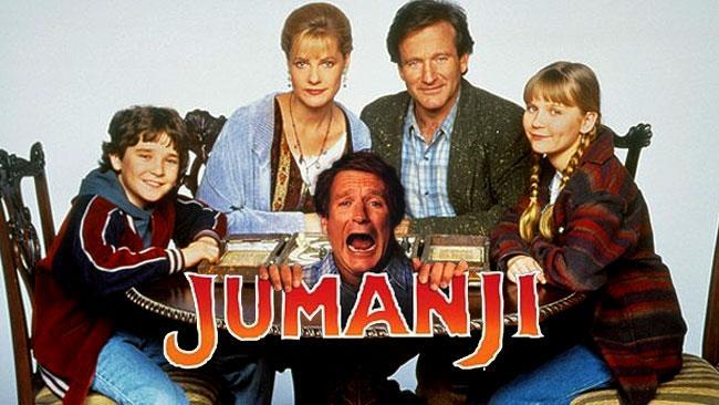Una scena dell'originale Jumanji