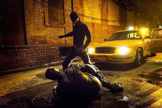Matt Murdock nei panni di Daredevil