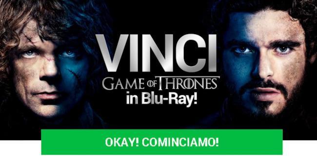 Non perdere l'occasione di vincere il cofanetto di Game of Thrones: iscriviti subito al contest!