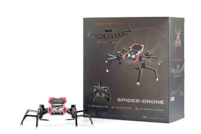 Il drone di Spider-Man si mostra in un'immagine