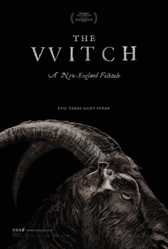 La locandina di The Witch, il film horror in arrivo nel 2016